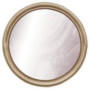 Oglindă rotundă mare de cristal