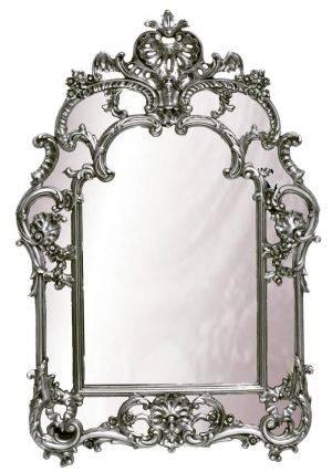Oglindă asimetrică argintie