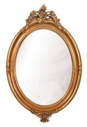 Oglindă ovală de cameră