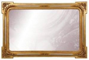 Oglindă neagră baie