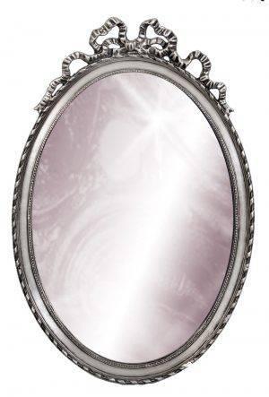 Oglindă ovală de perete