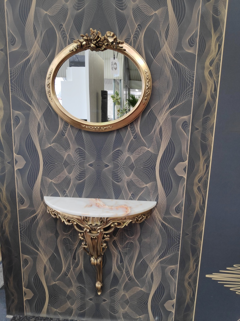 Oglinda pentru hol îngust