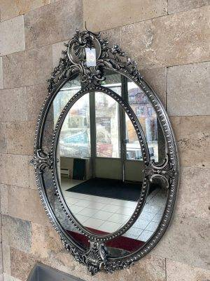Oglindă ovală decorativă