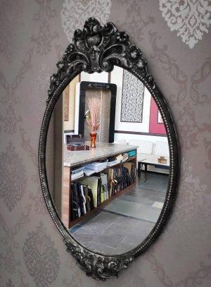 Oglindă argintie